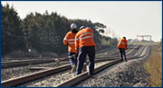 Aktuelle Bahnbaustellen: